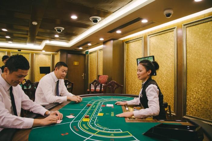 Casino Đồ Sơn được khánh thành từ năm 1995 và được coi là sòng bạc lâu đời nhất