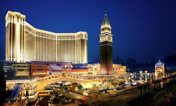 Venetian Macau chính là một trong những sòng bạc lớn là chất lượng nhất tại Macau